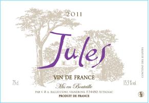 Jules, Vin De France 2011