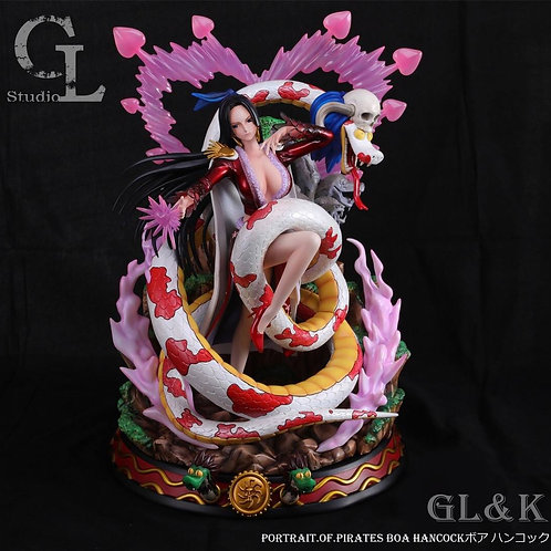One piece GL&K Studio Boa Hancock Romantic Resin GK Collector Statue