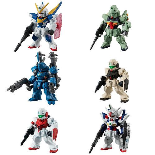 FW Gundam Converge #18 Victory Two Kampfer Geminass set of 6 Bandai Shokugan