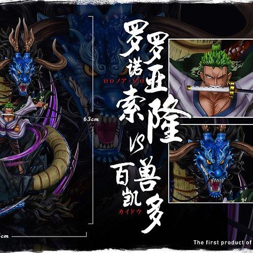 【Preorder】 Nora Stuido Roronoa Zoro vs Kaido