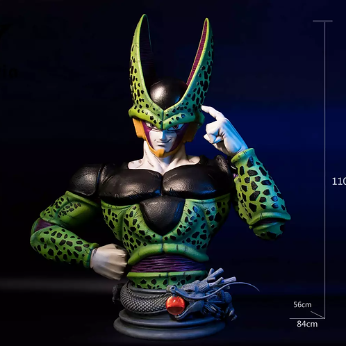 【Preorder】SD Studio Dragon Ball Z Perfect Cell Bust Resin Statue