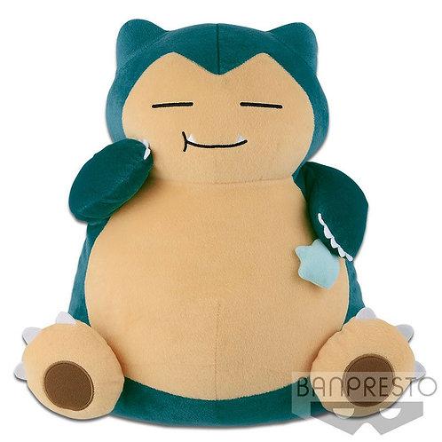 """Pokemon Snorlax Relax Super Big 14"""" Plush Doll Banpresto (100% authentic)"""
