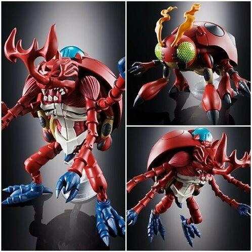 Digimon Digivolving Spirits 06 Atlur Kabuterimon diecast action figure Bandai