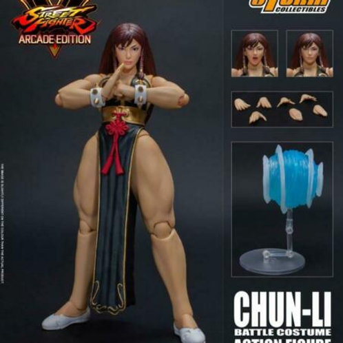Ultra Street Fighter V Hot Chun Li 1/12 action figure Storm Collectibles NYCC