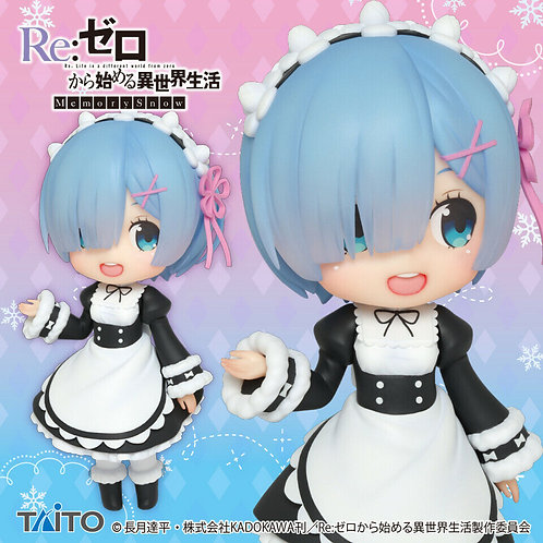 Re:Zero Starting Life in Another World Rem Crystal Figure Taito (100% authentic)