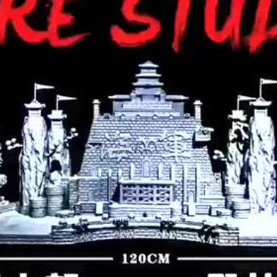 Fire Studio One Piece Marine scene resin base EX