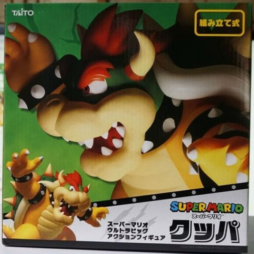 Super Mario Bros. Super Big 30cm Bowser PVC figure Taito (100% authentic)