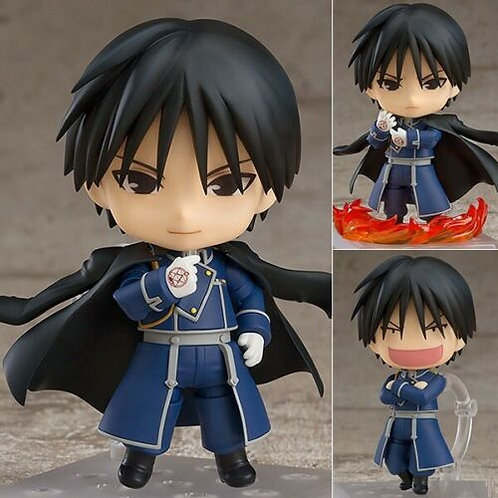 Nendoroid 823 Full Metal Alchemist Roy Mustang figure Good Smile (Authentic)