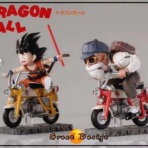 【Preorder】GD Studio  DragonBall Master Roshi & Son Goku