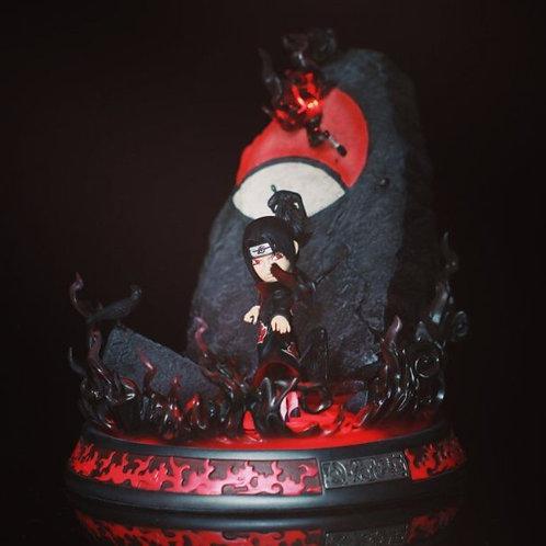 Naruto Uchiha Itachi Resin Statue Figurine G5 Studio Painted LED Light GK