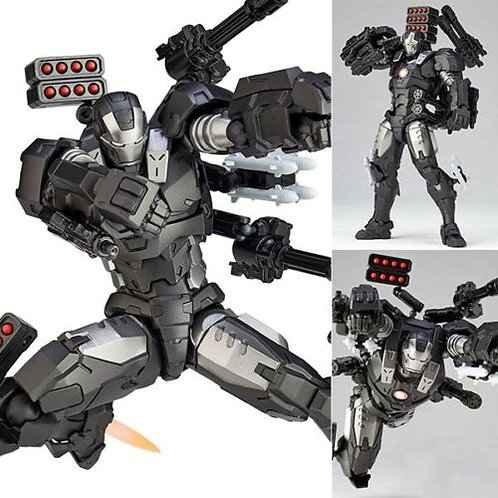 Amazing Yamaguchi Revoltech 016 Iron man War Machine figure Kaiyodo (authentic)