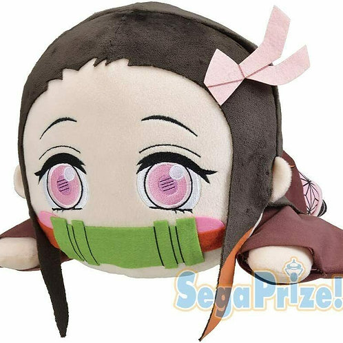 KIMETSU NO Yaiba Demon Slayer Kamado Nezuko 40cm Nesoberi Plush Sega (authentic)