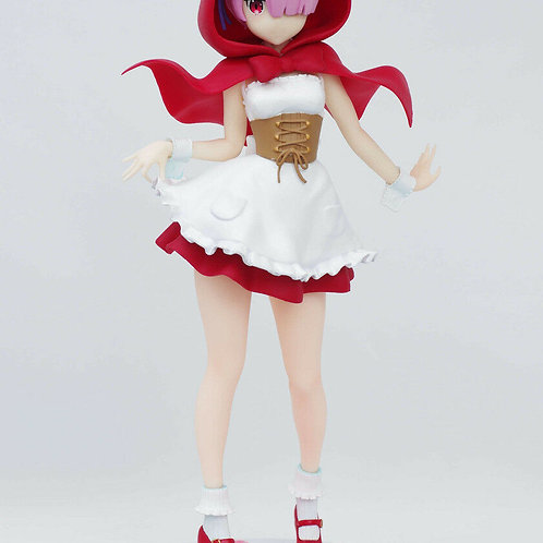 "Re:Zero Starting Life in Another World Ram Red Hood 6"" PM Figure Furyu"