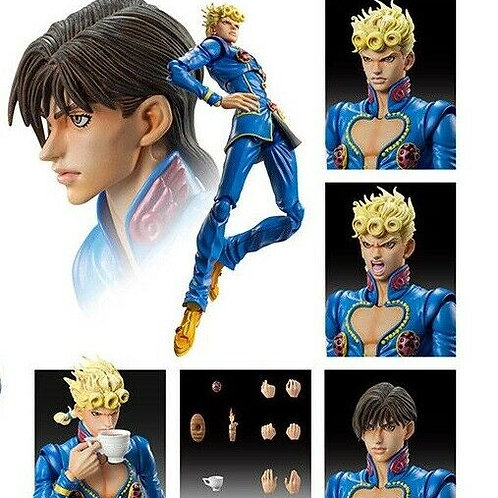 Jojo's Bizarre Adventure Part 5 Giorno Giovanna Second action figure Medicos