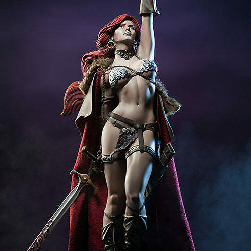 Red Sonja She-Devil Premium Format Statue Sideshow Collectibles