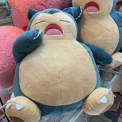 """Pokemon I love Kabigon Snorlax Super Big 14"""" Plush Doll Banpresto (authentic)"""