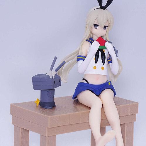 """Kantai Collection KanColle Shimakaze Chinjufu no Shiki 6"""" PVC Figure Banpresto"""