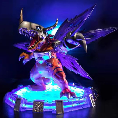 【Preorder】MOON GOODESS & MIMAN Studio Metal Greymon with LED