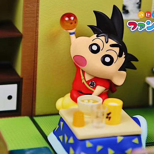 【Preorder】 Memory Box - Shinchan Cos Goku