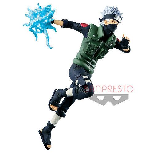 Naruto Shippuden Vibration Stars Kakashi Hatake PVC Figure Banpresto (Authentic)