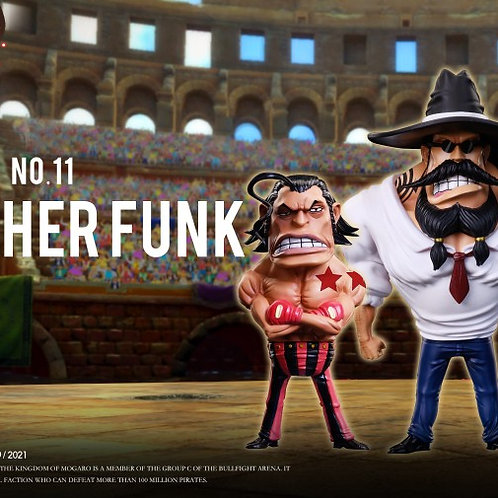 【Preorder】YZ Studio ONEPIECE Colosseum NO 11 Brother Funk