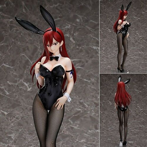 Fairy Tail Erza Bunny Girl 1/4 PVC figure FREEING (100% Authentic)