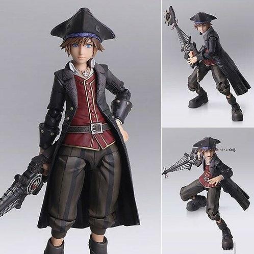 Kingdom Hearts III Sora Pirate Bring Art figure Square Enix (100% authentic)