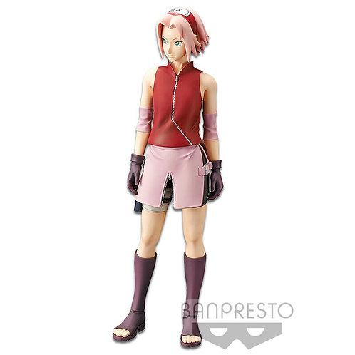 """Grandista Naruto Shinobi Relations Haruno Sakura 12"""" PVC Figure Banpresto"""