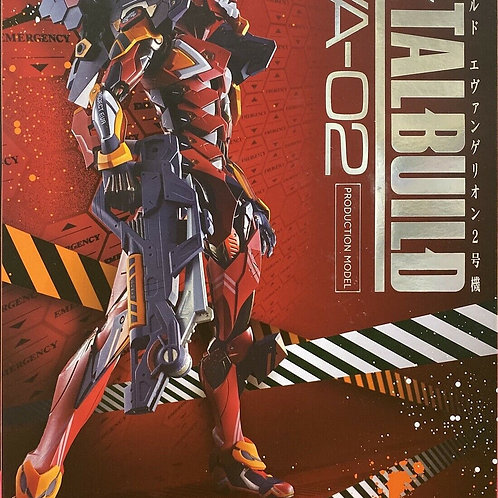Metal Build Neon Genesis Evangelion Unit 02 EVA-02 action figure Bandai Tamashii