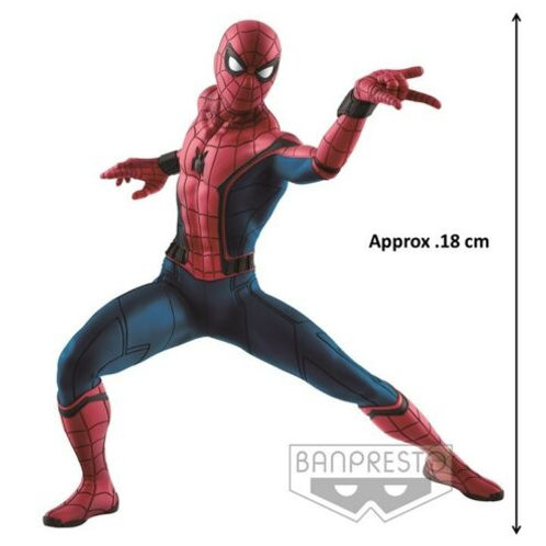 "【Black Friday】Spider-man Homecoming 8"" PVC Figure Banpresto Oversea Limited"