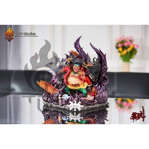 ONE PIECE Statue Blackbeard Pirates Bust Four Emperors
