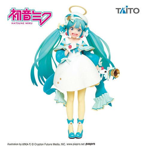 """Vocaloid Hatsune Miku 2nd Season Winter ver. 6"""" figure Taito (100% authentic)"""