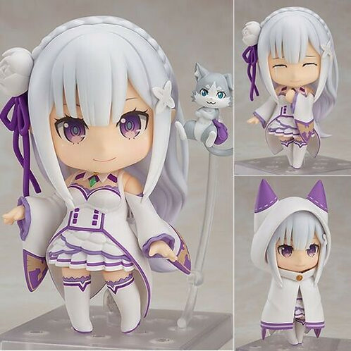Nendoroid 751 Re:ZERO Starting Life in Another World Emilia figure Good Smile