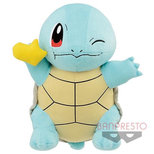 """Pokemon Hitokage Squirtle 14"""" Plush Banpresto (100% authenti"""