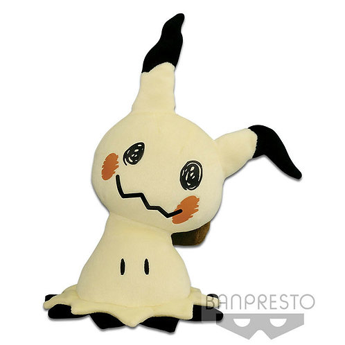 "Pokemon Sun & Moon Miimikyu 18"" Plush Doll Banpresto (100% authentic)"