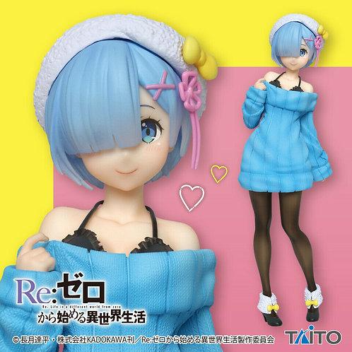 "Re:Zero Starting Life in Another World Rem Winter ver. Precious 6"" Figure Taito"