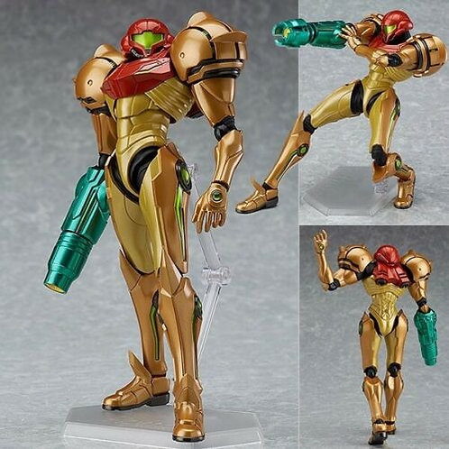 Figma 349 Metroid Prime 3 Samus Aran figure Max Factory (100% authentic)