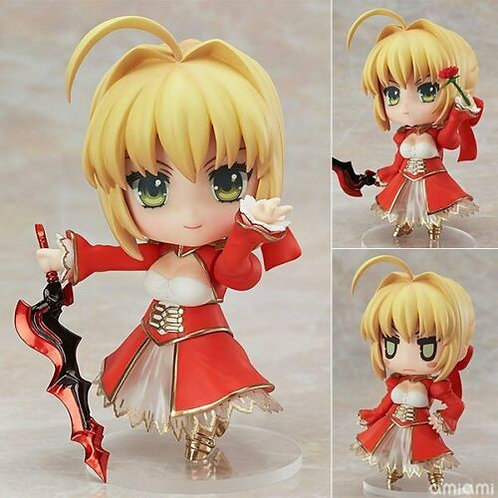 Nendoroid 358 Fate Extra Saber Extra pvc Figure Good Smile (100% authentic)