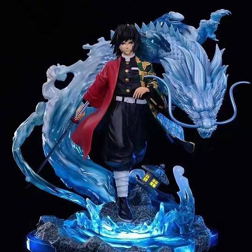 【Preorder】Gin X Black Wing Studio Demon Slayer Giyu Tomioka GK Resin Statue