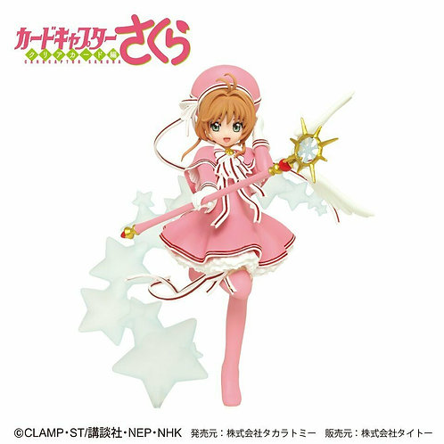 "Card Captor Sakura Clear Card ver. 7"" PVC figure Taito (100% authentic)"