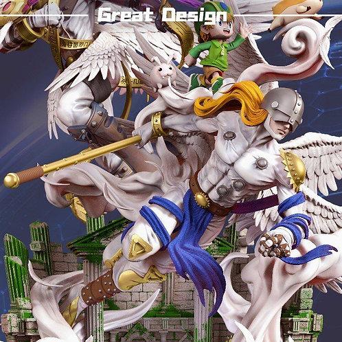 【Preorder】GD Studio Magna Angemon Holy Magna Angemon