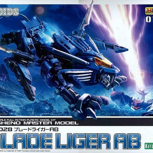 Zoids HMM-016 RZ-028 Blade Liger AB 1/72 model kit Kotobukiya