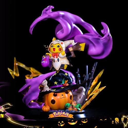 ZN Studio Pokemon Halloween Pikachu GK Resin Statue