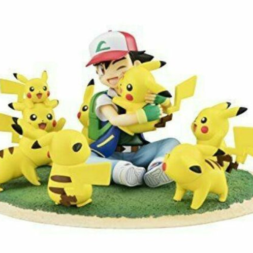 【Black Friday】GEM Series Pokemon Satoshi & Pikachu Full Pikachu Ver. 120mm