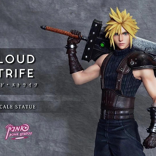 【Preorder】Pink Pink Studio 1/4 scale Cloud Strife resin statue