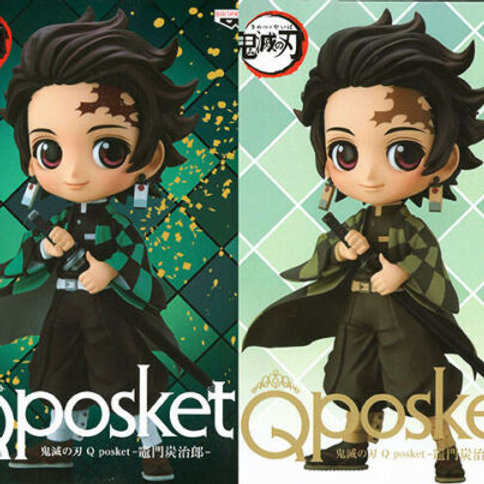 Q Posket Demon Slayer Kimetsu no Yaiba Tanjiro Kamado figure Banpresto