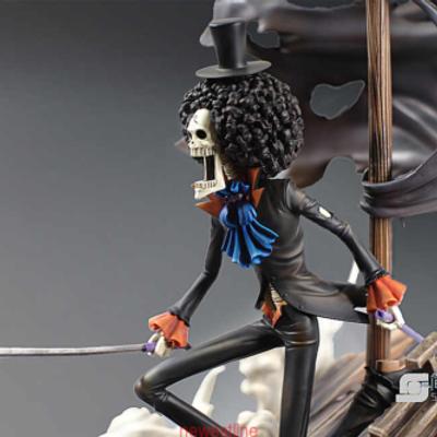 One Piece Brook Simple Workshop GK Statue