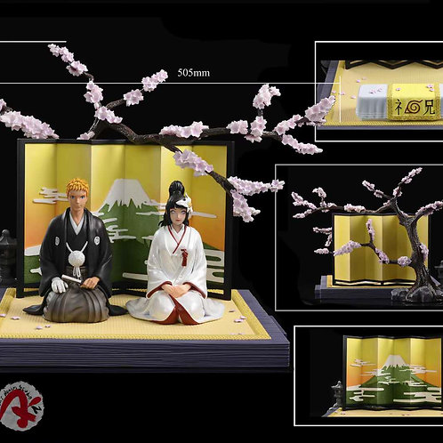 1984xArt Realm Studio Naruto and Hinata Wedding GK Resin Statue
