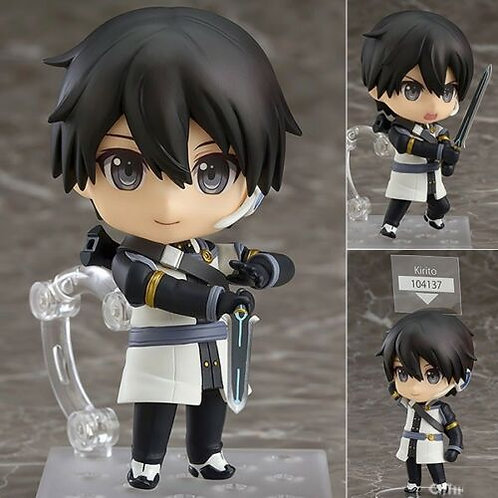 Nendoroid 750b Sword Arts Online Ordinal Kirito figure Good Smile (Authentic)