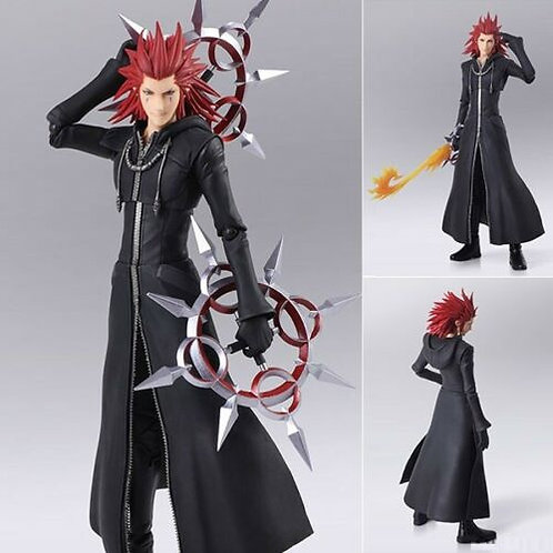 Kingdom Hearts III Axel Bring Art action figure Square Enix (100% authentic)